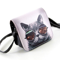 Cool Over The Shoulder Cat Anime Purse