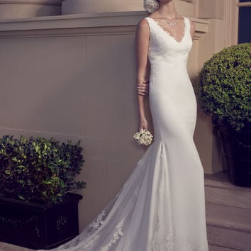 Casablanca Bridal 2186 Tank Sheath Wedding Dress