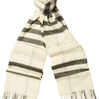 Burberry London - London checked cashmere scarf