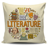 Literature Pillow Cover