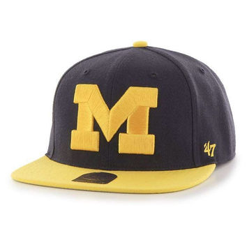 Michigan Sure Shot Two Tone Adj - Navy