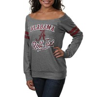 Alabama Crimson Tide Ladies Flash Dance Sweatshirt - Gray