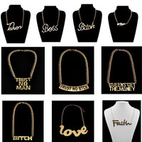 Fashion Gold/Silver Necklaces