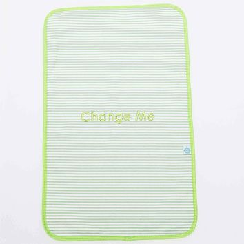 Easy Baby New Orleans Seersucker Style Change Me Changing Pad Traveler