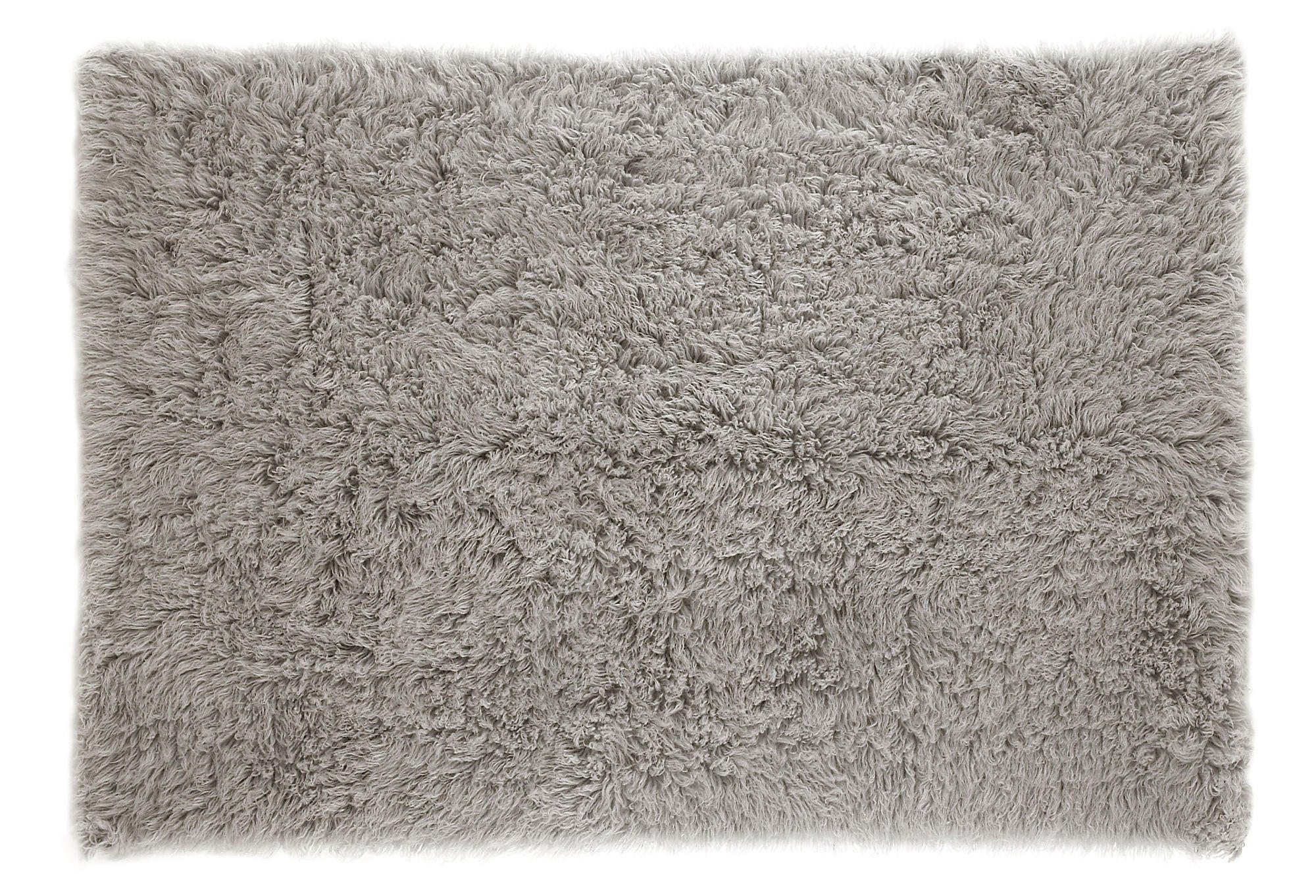 Flokati Rug Natural Gray Area Rugs From One Kings Lane New