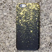 Gold Glitter iPhone 6 Case Fireworks iPhone 6 plus Case iPhone 5S 5 iPhone 5C Case Samsung Galaxy S6 edge S6 S5 S4 S3 Note 3 Case 029