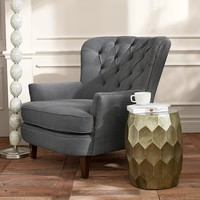 Cardiff Tufted Upholstered Armchair