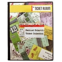 Concert Cover Ticket Album