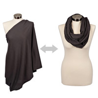 Infinity Breast Feeding Scarf & Cover Steely Nights