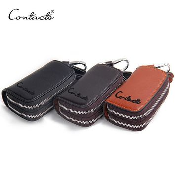 Cars Leather Zippers Multi-function Lock Key Holder [9026451075]
