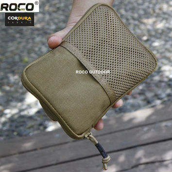 EDC MOLLE Military Waist Packs Army Military Pocket Organizer Phone Bags For Iphone 6 Plus Sumsang Note 2 3 4 Cordura Nylon