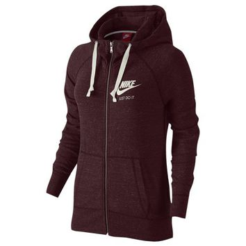 Nike Gym Vintage Full Zip Hoodie - Women's at Foot Locker