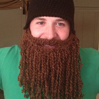 Duck dynasty duck commander inspired hat and beard Jase Robertson look