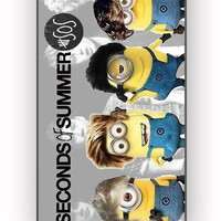 Despicable minion 5 SOS for iPhone 4/4S Case *