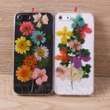 iPhone 6 case iPhone 6 plus Pressed Flower, iPhone 5/5s case, iPhone 4/4s case,  5c case Galaxy S4 S5 Note 2 note 3 Real Flower case NO:F94