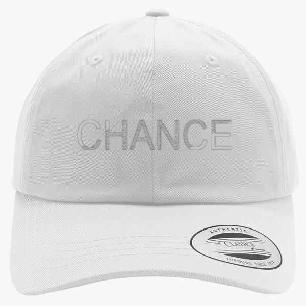 2cf453b5a72 Chance The Rapper Embroidered Cotton from Hatsline ( Custom Hats