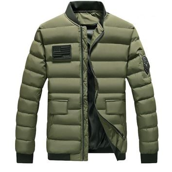 5XL Big Size Winter Thicken Warm Cotton Clothes Coat Parkas Men Outdoor Camping Camping Fishing Thermal Tactical Army Jacket Top