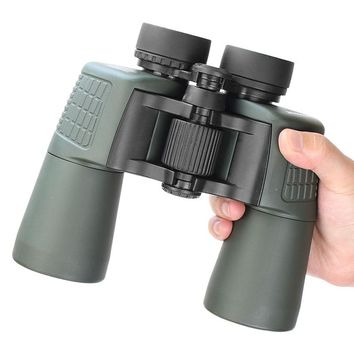 HD 10X50 Military Binoculars High Power Optical Glass Wide Angle Viewing