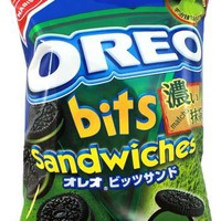 Oreo Bits Sandwiches -- Green Tea