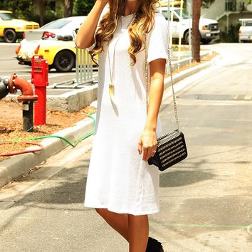 Nothing Could Break Us Dress: Ivory