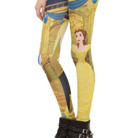 Disney Beauty And The Beast Leggings