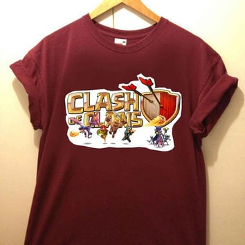 Clash Of Clans tshirt for merry christmas and helloween