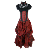 Elegant Gothic Ladies Ensemble - WENCH-41 from Dark Knight Armoury