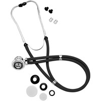 OMRON 416-22-BLK Sprague Rappaport-Style Stethoscope