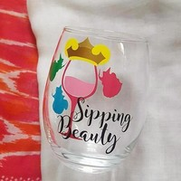 Disney Princess Sleeping Beauty Food And Wine Festival Cup