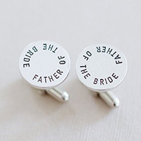 Father of the Bride Cufflink set