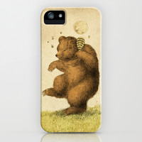 Honey Bear iPhone & iPod Case by Eric Fan