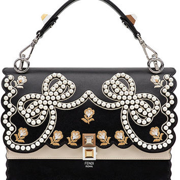 Fendi Embellished Kan I F Bag - Farfetch
