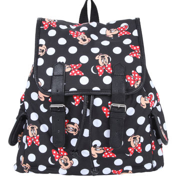 Loungefly Disney Minnie Mouse Slouch Backpack