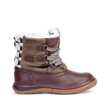 Pajar Canada Womens Snow Boots Iceland Waterproof Brown/Taupe