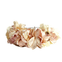Salmon Petals Crown Headband | eliurpi