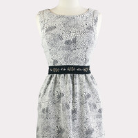 Icicle Belted Dress