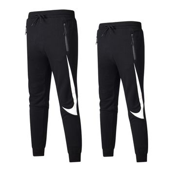 NIEK Newest Fashionable Couple Casual Print Sport Pants Trousers Sweatpants