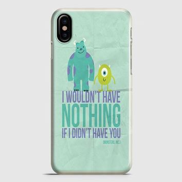 Monsters Inc iPhone X Case