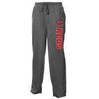 Cincinnati Reds Grassroots Textured Knit Jam Shorts - Charcoal