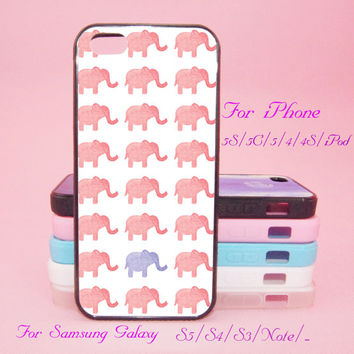 Little Elephants,iPod Touch 5,iPad 2/3/4,iPad mini,iPad Air,iPhone 5s/ 5c / 5 /4S/4 , Galaxy S3/S4/S5/S3 mini/S4 mini/S4 active/Note