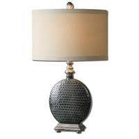 Salinger Gray Ceramic Table Lamp