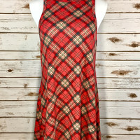 Jingle all the way Plaid Dress