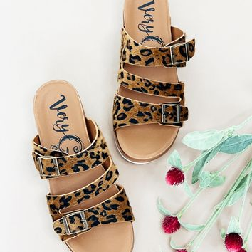 Very G Wild Side Sandal- Tan