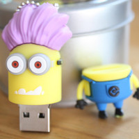 SALE30-70%OFF: 4GB Usb Minions Despicable Me Drive 4Gb , Cute Usb Flash Drive , Accessories , usb, Minions usb
