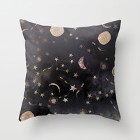 Constellations Throw Pillow by Nikkistrange