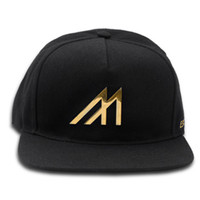 Mint Gold M Logo Hat