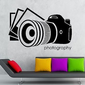 Wall Sticker Vinyl Decal Photographs Photography Arts Photo Journalist Unique Gift (ig2119)