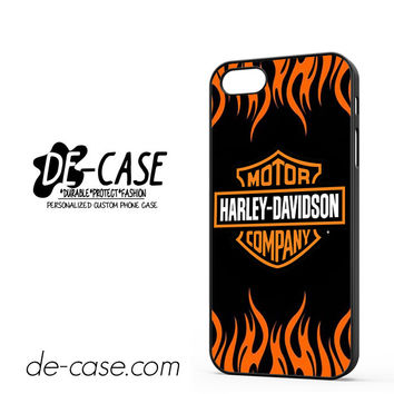 Harley Davidson Flame Logo For Iphone 5 Iphone 5S Case Phone Case Gift Present YO