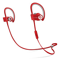 Beats by Dr. Dre Powerbeats 2 Wireless Bluetooth In-Ear Headphones ControlTalk +/- Red