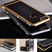 Luxury Phone Cases For Apple iPhone 5S 5 6 /6s Plus 5.5 Rubber Hybrid